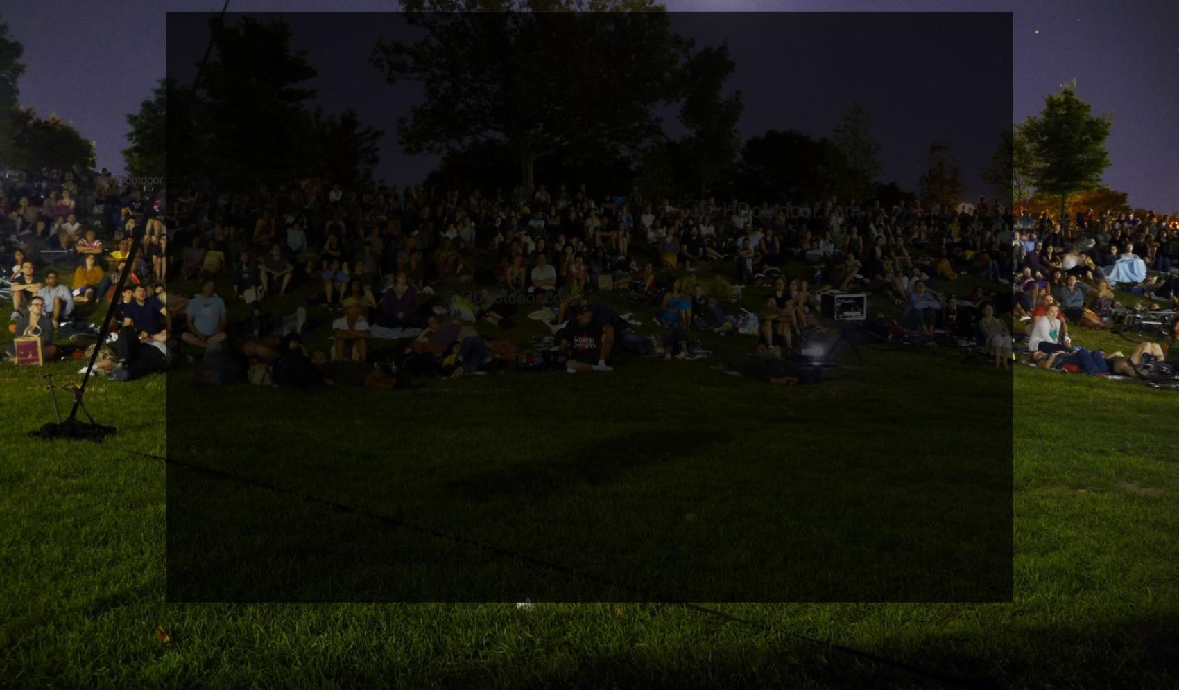 Full Service Outdoor Movies On Giant Hd Screens Rentals